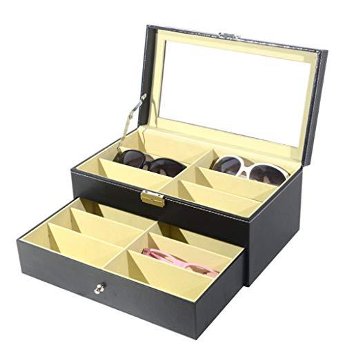 Schmuckkasten,Rifuli® Sonnenbrille Organizer für Frauen Männer mehrere Brillen Brillen Vitrine Wohnaccessoires Wohnaccessoires Deko Schmuckaufbewahrung