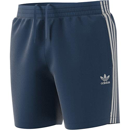 Adidas Tres Bds Bañador, Hombre, Azul Night Marine, XL