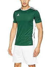 adidas Entrada 18 JSY Camiseta, Hombre, Verde (Collegiate Green/White),