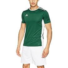 adidas Entrada 18 JSY T-Shirt, Hombre, Collegiate Green/White, XL