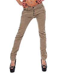 TRENDY Femmes Jeans PANTALON CHINO AMI hipsters TUBE jeans skinny BAGGY STYLE