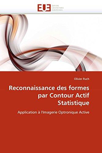 Reconnaissance des formes par contour actif statistique par Olivier Ruch