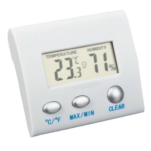 SODIAL(R) Mini LCD-Digital-Thermometer-Hygrometer Luftfeuchtigkeit Meter Innen Zuhause