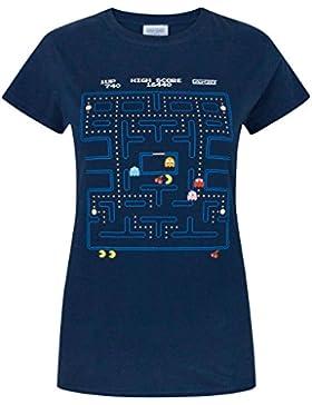 Pac Man Mujeres Camiseta