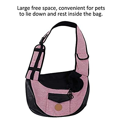 Pet Sling Carrier Foldable Pet Small Dog Bag Puppy Carrier Single Shoulder Bags Pet Dog Cat Carrier Bag Outdoor Travel Puppy Carrying for Walking Subway from Pssopp