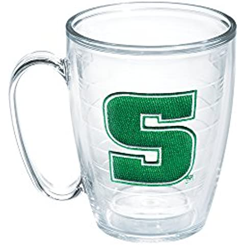 Tervis Slippery Rock University Emblem Individual Mug, 16 oz, Clear by Tervis