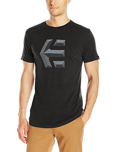 T-Shirt Etnies Mod Icon Nero-Nero (M , Nero)