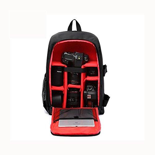 Zaino per fotocamera SLR e accessori Zaini per fotocamera reflex/laptop , Red