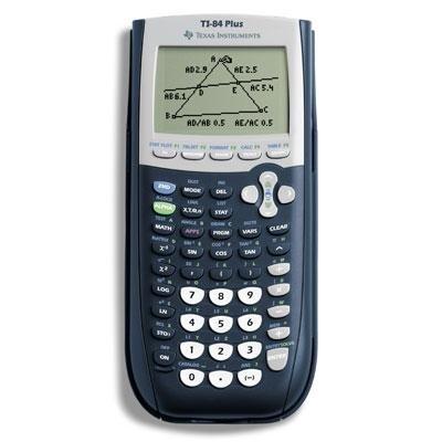 Texas TI-84Plus calcolatrice grafica W/Flash software