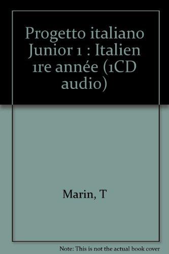 Progetto italiano Junior 1 : Italien 1re année (1CD audio)