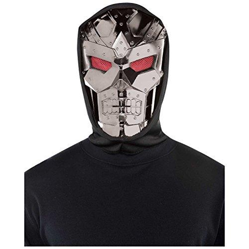 Amscan Halloween Dark Roboter (Maske Roboter)