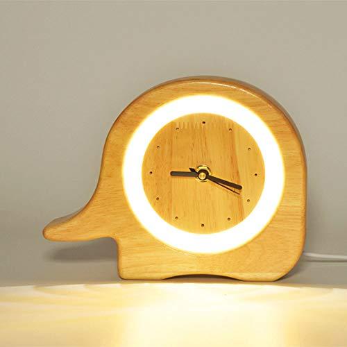 ZR Despertador luz USB luz Nocturna Creativa romántica decoración Dormitorio Mesa de...