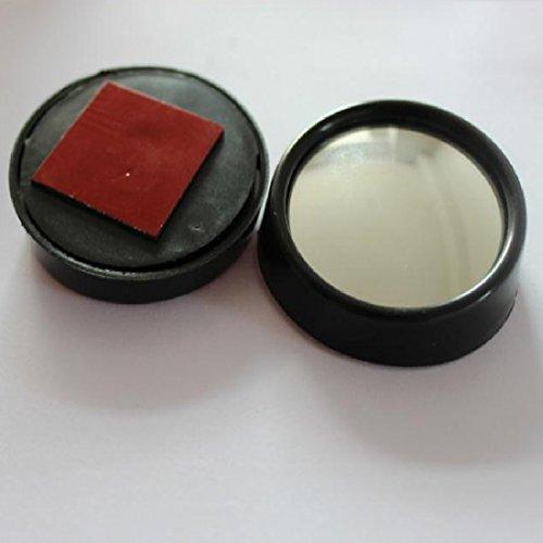 2-x-Pcs-Rckspiegel-Rund-breit-Verstellbare-Auto-Spiegel-Reflektierende-360--KFZ-AUX-Paar-51-cm