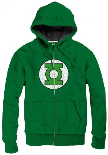 Green Lantern Logo Felpa jogging verde M