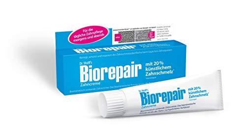 Biorepair Zahncreme - Reparierende Zahnpasta mit künstlichem Zahnschmelz - 4 x 75 ml