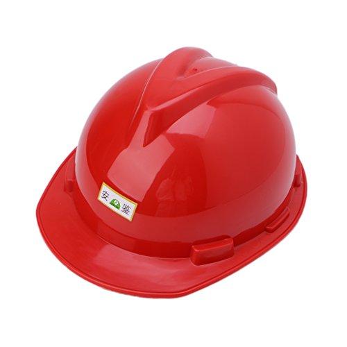 cuigu–Casco de protección para Obra obrero, Transpirable plástico Aislamiento Material Casco de protección