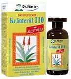 Dr. Förster Kräuteröl 110 mit Aloe Vera, 100 ml