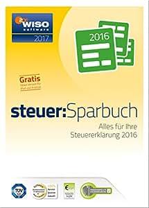 WISO steuer:Sparbuch 2017 (für Steuerjahr 2016 / Frustfreie Verpackung)