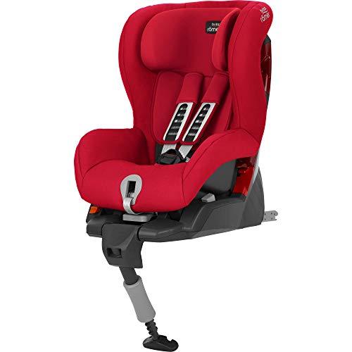 Britax Römer Safefix Plus, Autositz Gruppe 1 (9 - 18 kg), Kollektion 2019, fire red