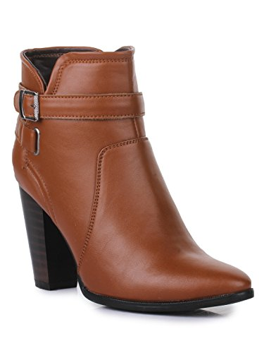 Bruno Manetti Women(BT-002) Tan Synthetic Leather ...