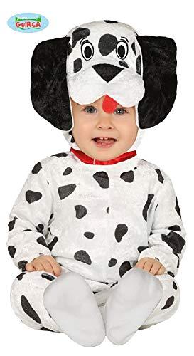 Fiesta Guirca Hundekostüm Hund Dalmatiner Baby Kostüm Tierkostüm Kinder (Kleinkind Dalmatiner Kostüm)
