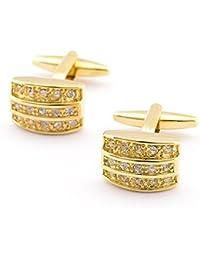 AIURLIFE Uñas de lujo oro tachonado brazalete