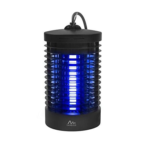 Gardigo Insektenvernichter Elektrisch mit UV-Licht | Elektronischer Mückenschutz Gegen Mücken, Fliegen, Moskitos | Insektenabwehr für 25 m² | Deutscher Hersteller (Indoor-outdoor-raum)