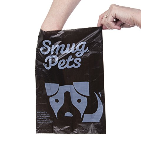 smugpets Premium Hundekotbeutel, Extra dick, biologisch abbaubar, frischer Duft, umweltfreundlich, extra groß, auslaufsicher, 20Rollen mit 15Kotbeuteln Pro Rolle (300 Stück) - 3