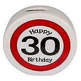 OOTB Keramik-Spardose mit Happy Birthday - 30