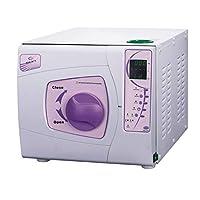 Aprodite 23L Class B Dental Autoclave Steam Sterilizer with Printer 3 Times Vacuum Clinic Purple