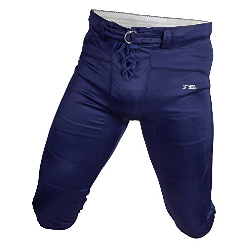 Active Athletics Shiny Football Practice Pants - Navy 3XL