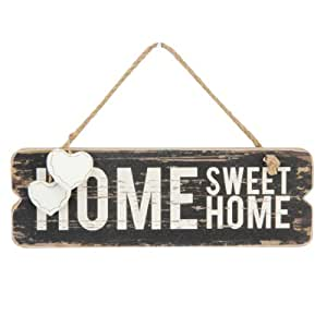 Home Sweet Home Wooden Wall Plaque by Juliana Home Living