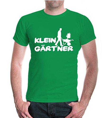 T-Shirt Kleingärtner-XXL-Kellygreen-White (Handschuh Natur-jersey)