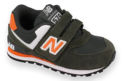 New Balance Kg574, Baskets mode mixte enfant Verde