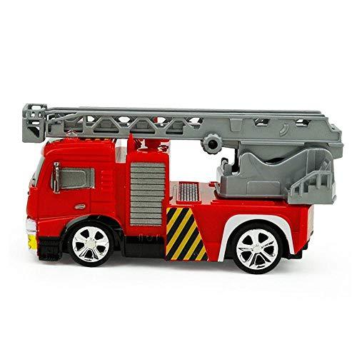 FOONEE Paw Patrol Feuertruck, Pfotenkontrolle, wiederaufladbar, kühles Licht, ferngesteuertes Spielzeug für Kinder ab 3 Jahren Ladder Fire Truck (Ladder Fire Truck Spielzeug)