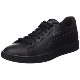 Puma Puma Smash v2 L, Unisex-Erwachsene Sneakers, Schwarz (Puma Black-Puma Black), 45 EU (10.5 UK)