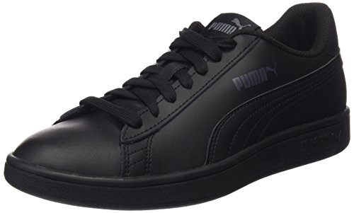 Puma Smash V2 L, Baskets de Cross Mixte Adulte, Noir Black Black, 45 EU