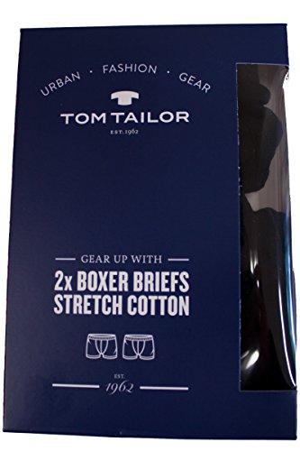 TOM TAILOR Boxer Briefs 2-Pack, Doppelpack, weiß oder schwarz schwarz-9000