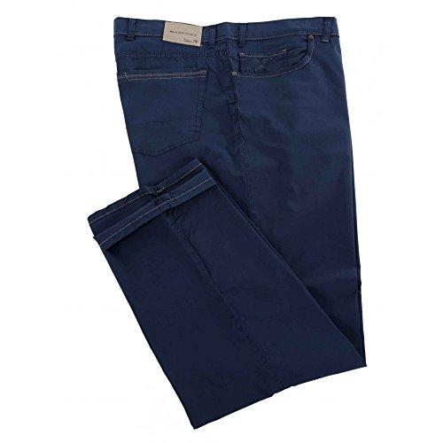 Pantalone Maxfort Liberio taglie forti uomo - Blu scuro, 58 GIROVITA 116 CM