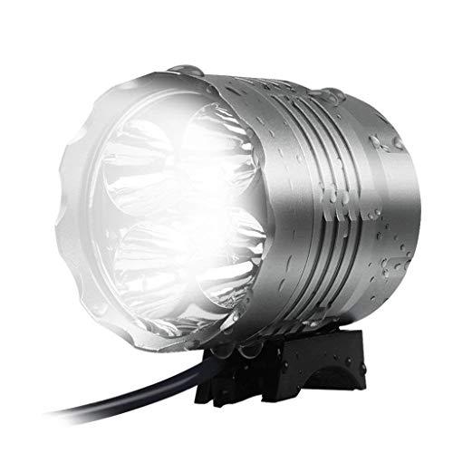 Zmsdt Juego De Luces LED para Bicicletas 6000 Lumen Rechargeable Bicycle Light...