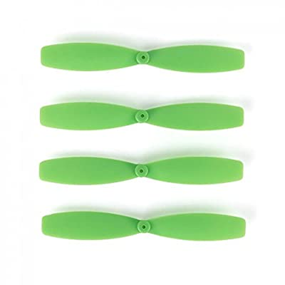 MagiDeal 4pcs 60mm Fixed-wing Propellers Props Spare Parts for Small Racing Drone UAV Quadcopter Aircraft Accessory