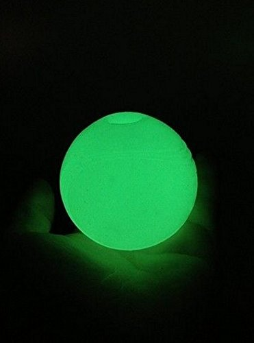 Pack Of 3 x Chuckit Light Play Max Glow Ball ** EVERY SIZE ** For Dog Launcher 2