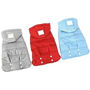 Etophigh Chien en Duvet Veste Manteau sans Manches vêtements Fournitures pour Animaux de Compagnie vêtements d'hiver Costume
