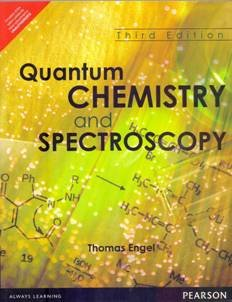 Quantum Chemistry And Spectroscopy, 3Rd Edition