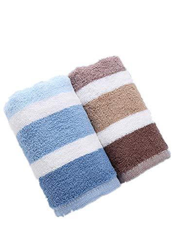 GORYY Baumwolle Straffendes Leichtes Handtuch Weiche Haut Beruhigendes Schnell Trocknendes Handtuch 68g, Zwei Sätze 62 * 31 - Beruhigende Satz