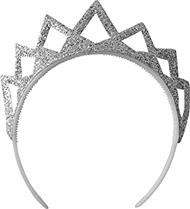 Aec-ac0428/OR-Invernadero Tete Corona Purpurina Oro