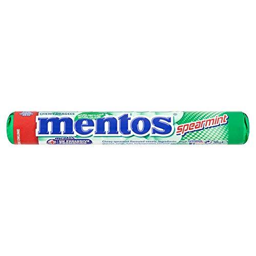 Mentos Spearmint Neues Rezept 38g x 40 Packungen Minze