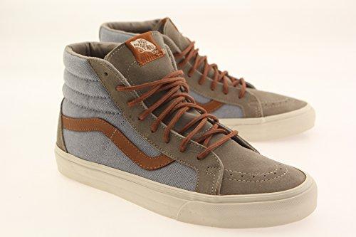 Vans Unisex-Erwachsene Sk8-Hi Reissue DX Hohe Sneakers (brushed) blue