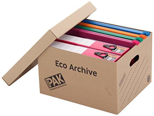 StorePAK Eco Archive - Scatola per archiviazione con coperchio, confezione da 20