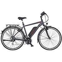 FISCHER Herren - E-Bike Trekking ETH 1806, anthrazit matt, 28 Zoll, RH 50 cm, Hinterradmotor 45 Nm, 48 V Akku